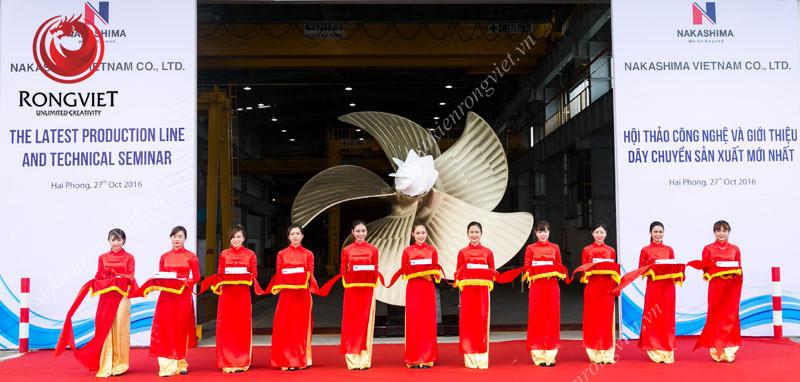 Đội ngũ PG trong sự kiện - Công ty sự kiện Rồng Việt