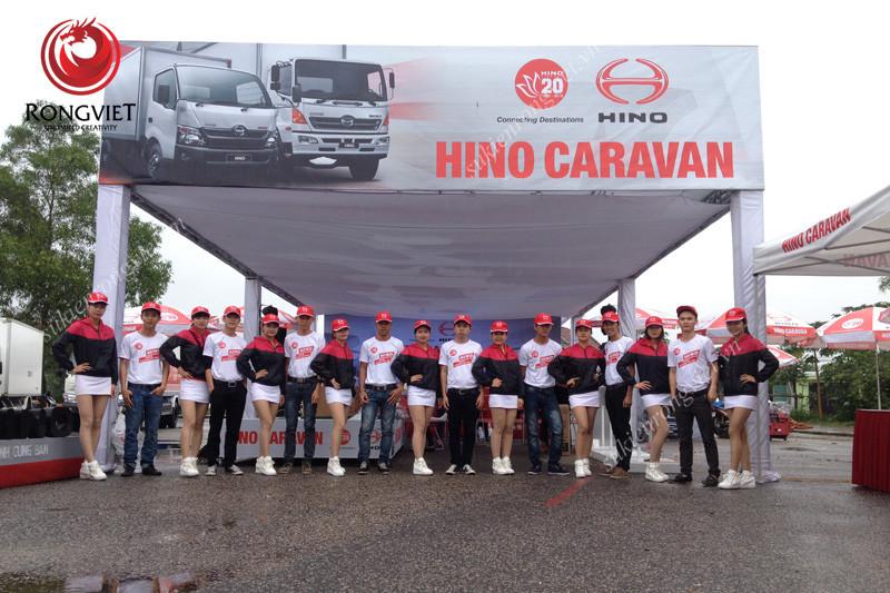 Đội ngũ PG PB trong sự kiện - Công ty sự kiện Rồng Việt