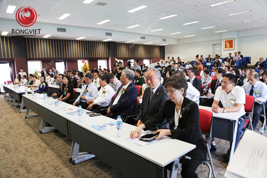 Toàn cảnh lễ khánh thành đại học Y khoa Tokyo - Công ty sự kiện Rồng Việt