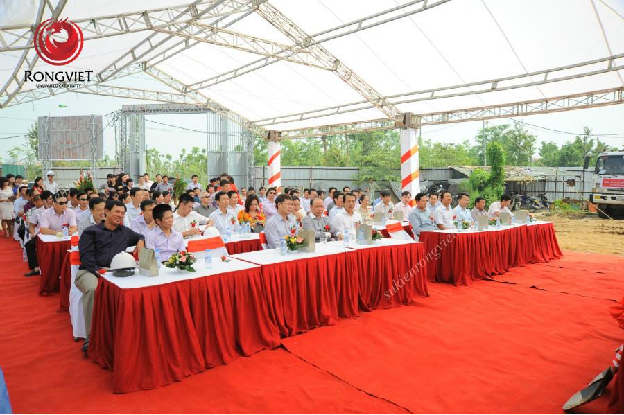 Lễ khởi công chung cư cao tằng N03 - Công ty sự kiện Rồng Việt