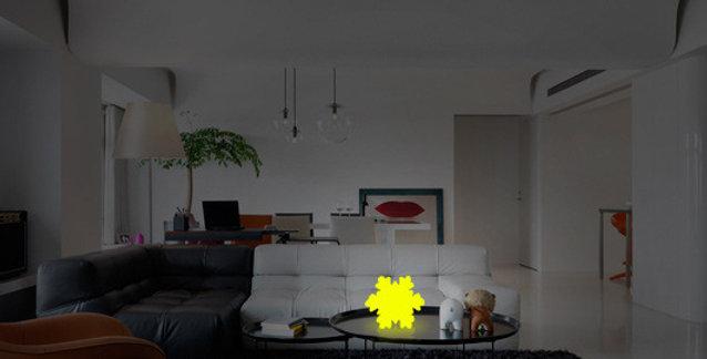 đèn trang trí nhà hàn