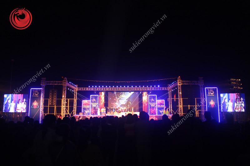 Sự kiện Canon night khi chương trình diễn ra - Công ty sự kiện Rồng Việt