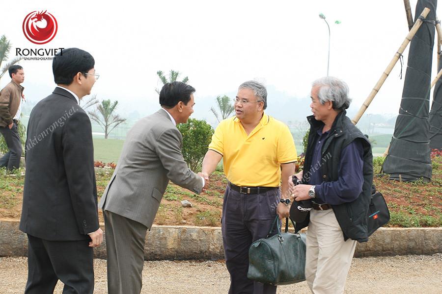 Sự kiện khia trương sân golf Hoàng Gia diễn ra thành công tốt đẹp - Công ty sự kiện Rồng Việt