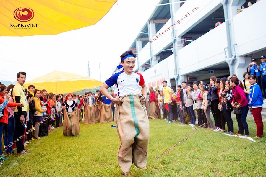 Khu vực trò chơi tại hội thao SEPV - Công ty sự kiện Rồng Việt