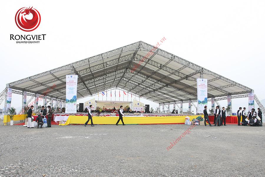 Toàn cảnh chương trình khai trương sân Golf Hoàng Gia - Công ty sự kiện Rồng Việt