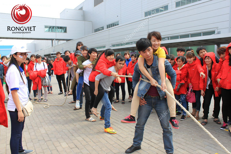 Trò chơi kéo co - Công ty sự kiện Rồng Việt