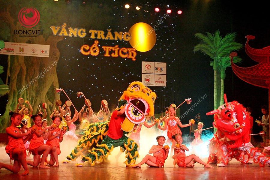 Chương trình Vầng trăng cổ tích nhân dịp Trung thu - công ty sự kiên Rồng Việt