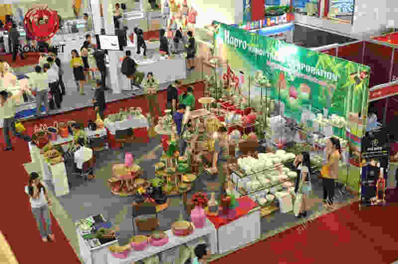 Dịch vụ thiết kế gian hàng trong hội trợ triển lãm - công ty sự kiện Rồng Việt