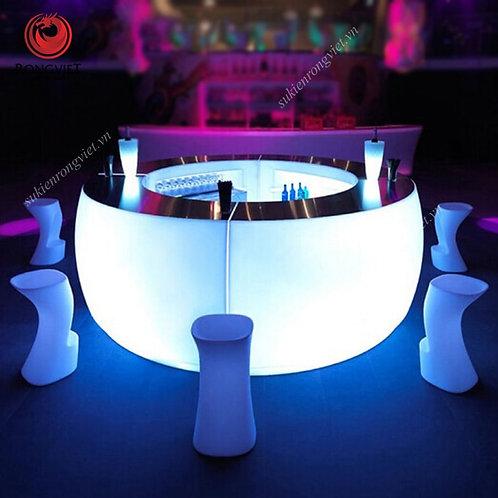 cho thuê bàn ghế bar led