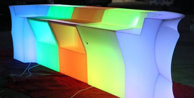 Bàn bar dài LED phát sáng BPS021