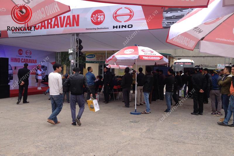 Sự kiện kích hoạt thương hiệu của Hino - Công ty sự kiện Rồng Việt
