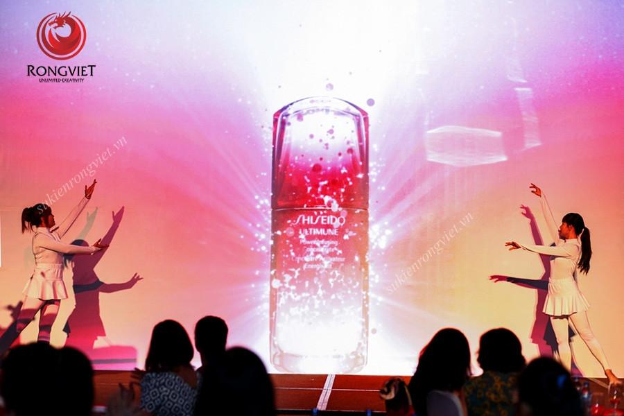 Sự kiện ra mắt sản phẩm mới Shiseido - công ty sự kiện Rồng Việt