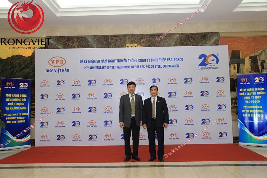 Photo booth được Rồng Việt thiết kế riêng theo concept chương trình - Công ty sự kiện Rồng Việt