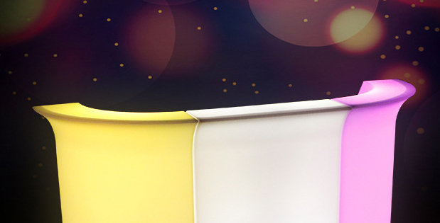 Quầy bar dài LED phát sáng BPS018