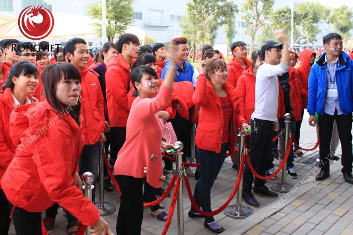 Các trò chơi mang lại niềm vui, hào hứng cho công nhân viên tại Samsung - công ty sự kiện Rồng Việt