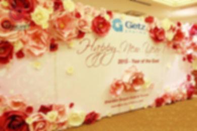 Thiết kế backdrop - công ty tổ chức sự kiện Rồng Việt