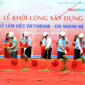 SỰ KIỆN KHỞI CÔNG NGÂN HÀNG Vietinbank - Hà Giang.