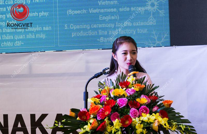 MC Lan Anh - Công ty sự kiện Rồng Việt