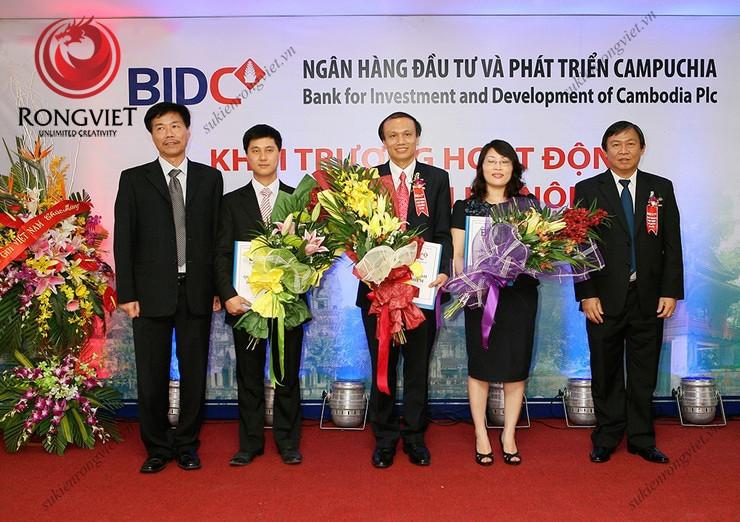 Lễ khai trương hệ thống văn phòng mới của BIDC tại Hà Nội - Công ty sự kiện Rồng Việt