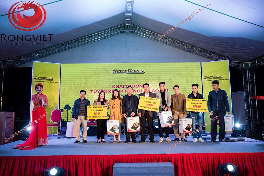Phần công bố giải thưởng cuối chương trình - Công ty sự kiện Rồng Việt