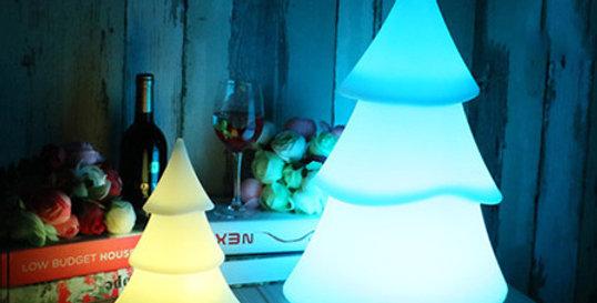 đèn led trang trí cây thông