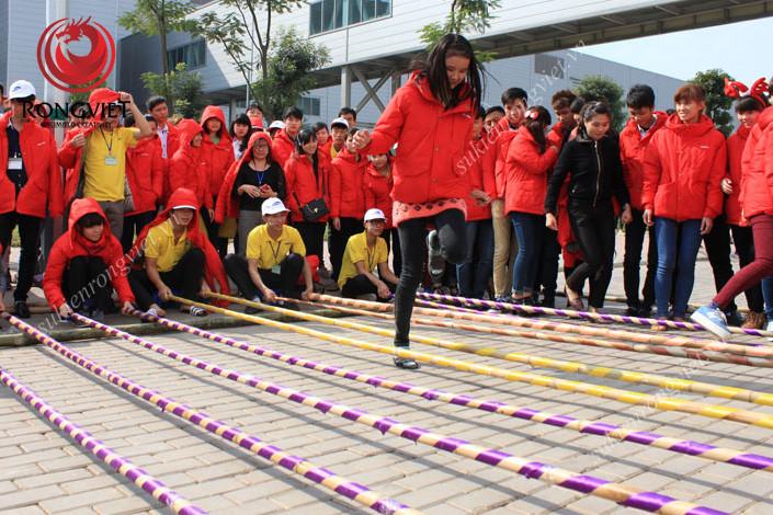 Hoạt động nhảy sạp thu hút sự chú ý lớn - Công ty sự kiện Rồng Việt