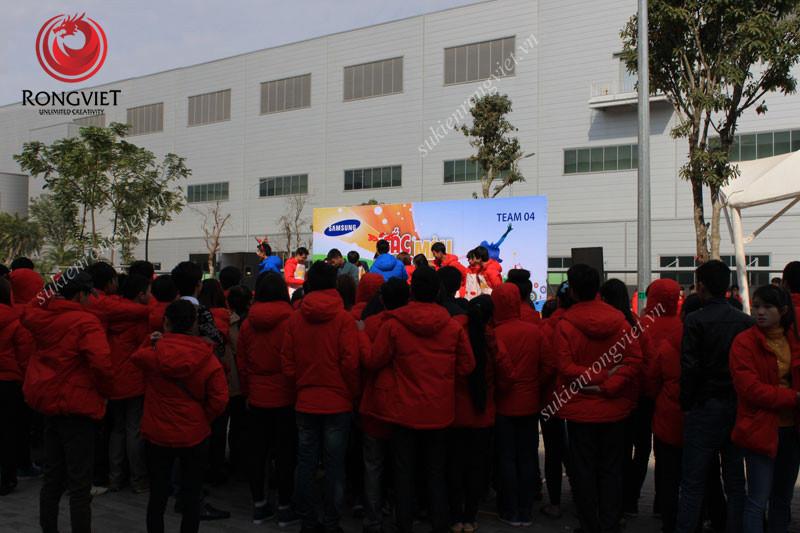 Trò chơi trên sân khấu - Công ty sự kiện Rồng Việt