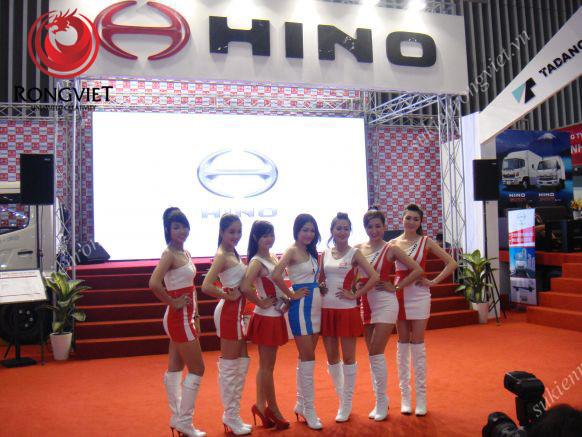 Những cô gái PG duyên dáng trong sự kiện - Công ty sự kiện Rồng Việt