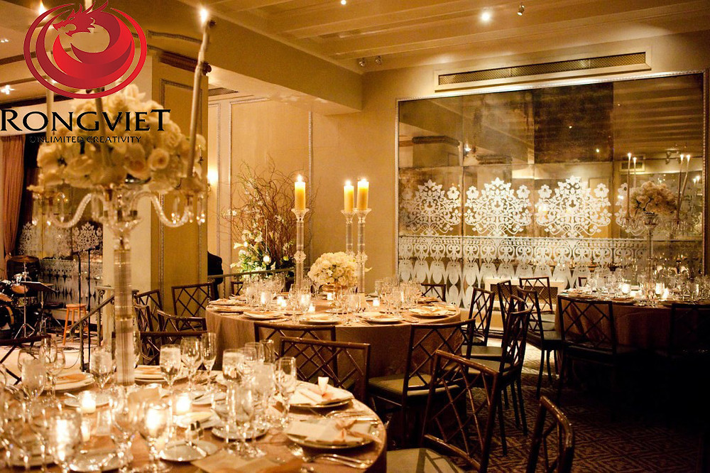 Ý tưởng trang trí cho bữa tiệc cocktail đơn giản, lạ mắt - Công ty sự kiện Rồng Việt