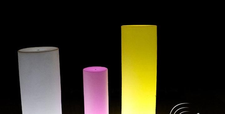 Đèn LED trang trí dạng hình trụ