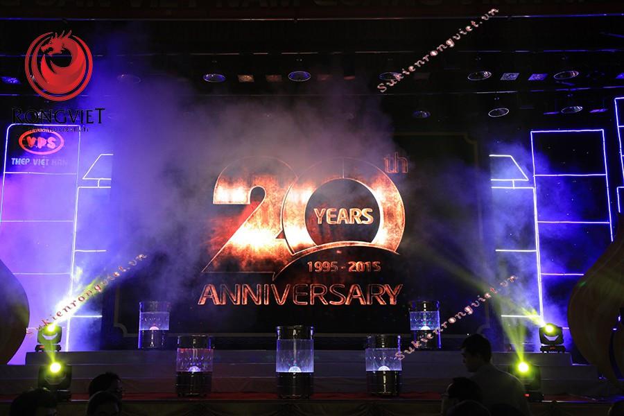 Sân khấu được Rồng Việt thiết kế theo concept chương trình - Công ty sự kiện Rồng Việt