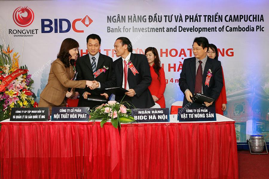 Lễ khai trương diễn ra thành công tốt đẹp - Công ty sự kiện Rồng Việt