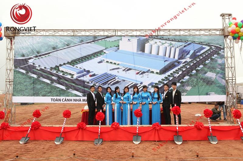 Rồng Việt tổ chức sự kiện khởi công, động thổ với đội ngũ nhân sự chuyên nghiệp và sự chuẩn bị chu đáo - Công ty sự kiện Rồng Việt