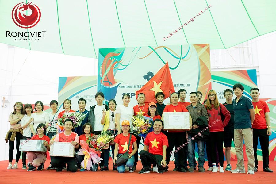 Ngày hội thể thao diễn ra thành công tốt đẹp - Công ty sự kiện Rồng Việt