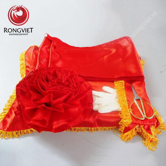 Bộ dụng cụ khánh thành được sử dụng tại sự kiện - Công ty sự kiện Rồng Việt