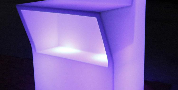 Quầy bar góc LED phát sáng BPS019