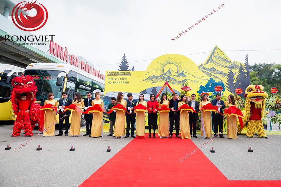 Lễ khai trương tuyến xe vip Hà Nội - Lào Cai - Công ty sự kiện Rồng Việt
