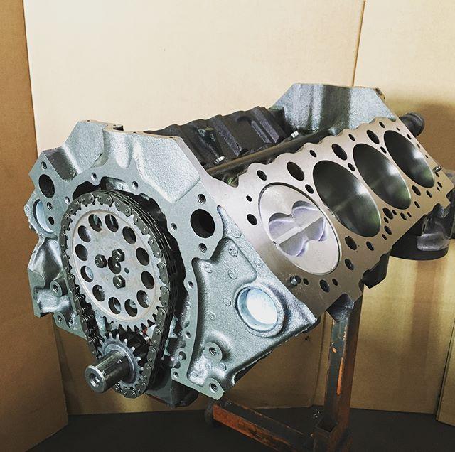 79 #Corvette 350 #sbc rebuilt short bloc