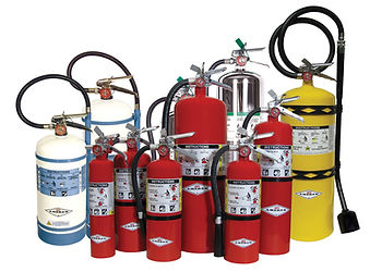 New Fire Extinguishers and Equipment