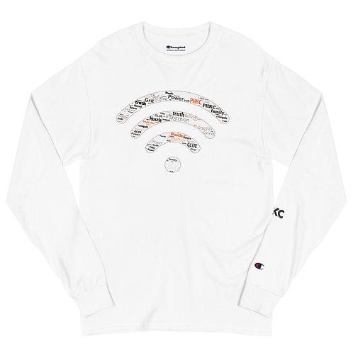 """ Clear Signal"" Men's Champion Long Sleeve Shirt"
