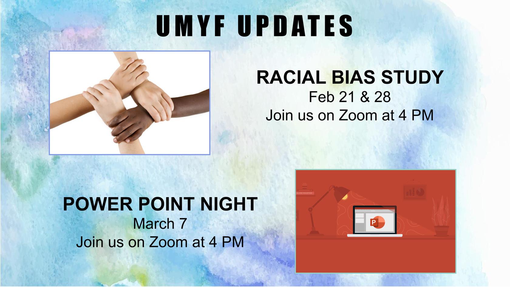 UMYF Updates