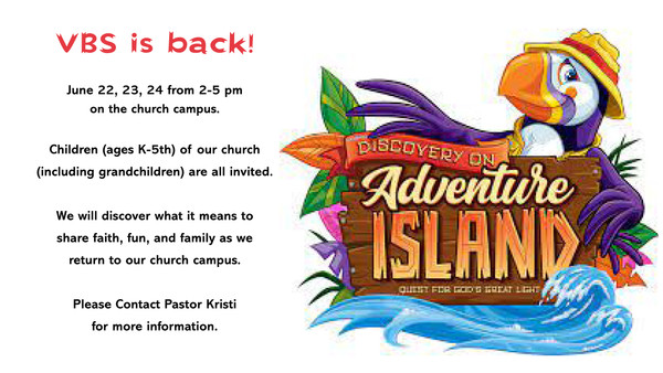 Want your child to attend VBS?