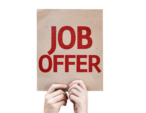 New Job Offers Are Available