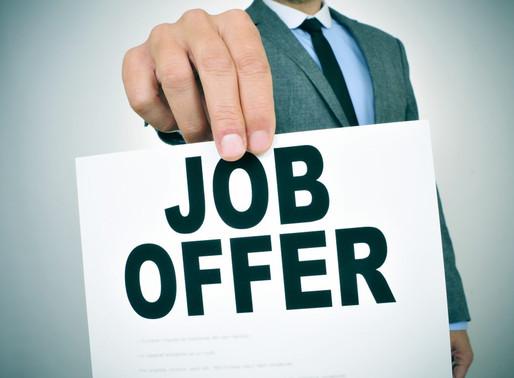 Job Offer - Property Salesperson