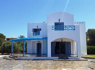 detached villa in agia marinouda
