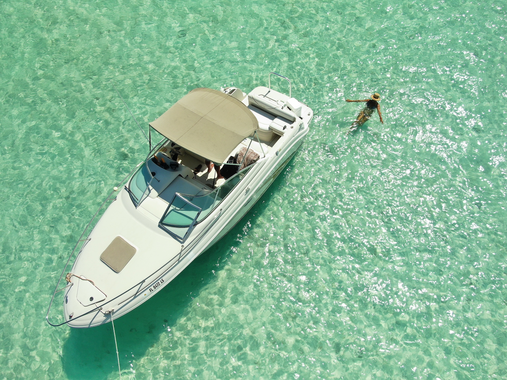 searay 245 punta cana beach