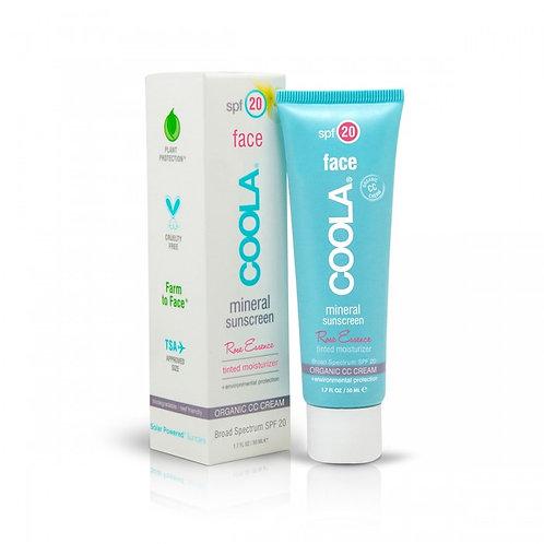 Coola - Rose essence crème CC organique