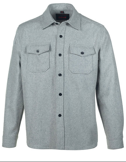 Men's Wool Shirt Grey