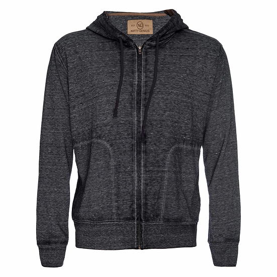 Burnout Hooded Sweater