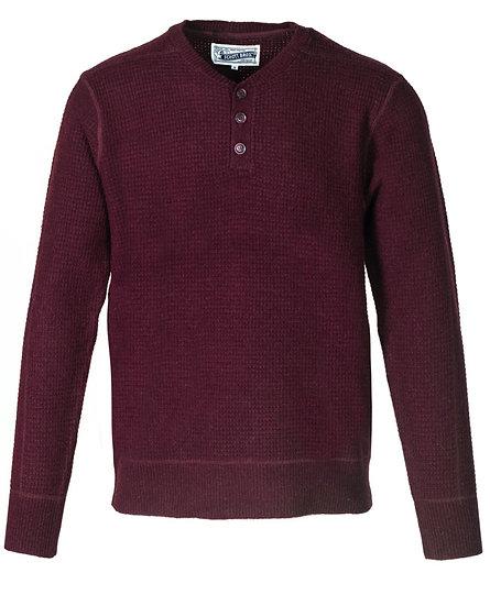 Button Henley Sweater